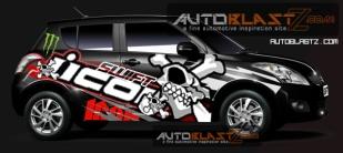 New Suzuki Swift black skull icon2