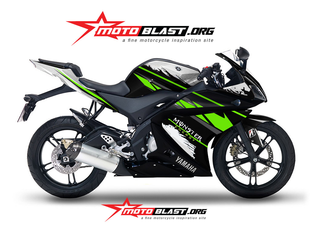 Kumpulan 98 Gambar Motor Yamaha Monster Energy Terunik Klaras Motor