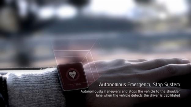 Hyundai's Emergency Stop System