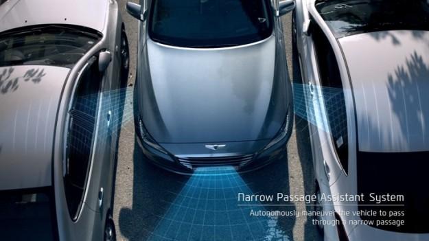 Hyundai's Narrow Passage Assistant System