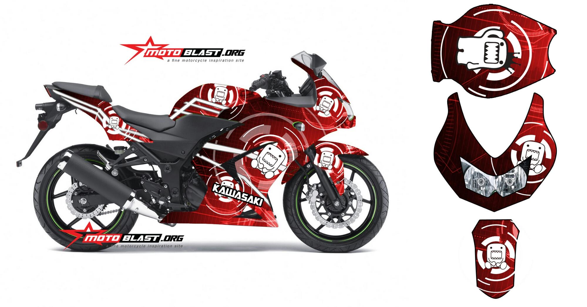 100 Gambar Motor Ninja Kartun Terlengkap Obeng Motor