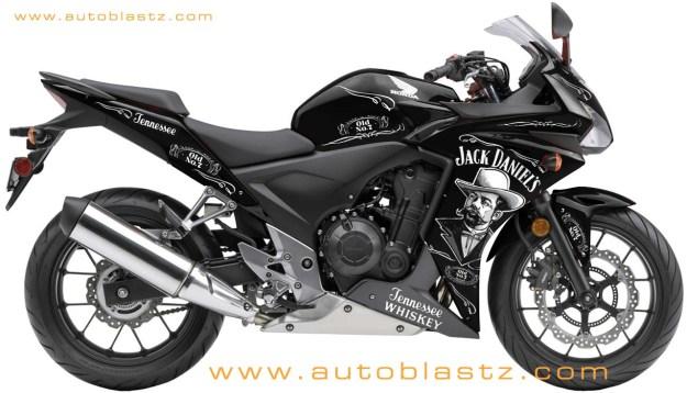 2013 Honda CBR500R.
