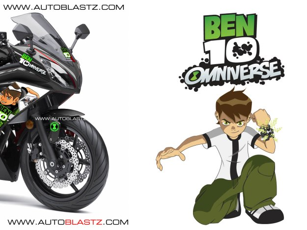 ER6F BEN10-black