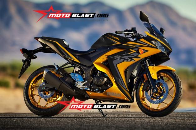 Yamaha-YZF-R25-BLACK YELLOW-1