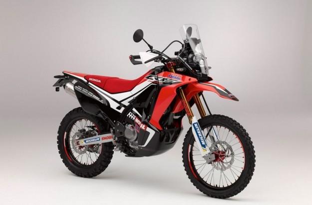 honda crf 250 rally - 1