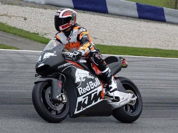 KTMRC16 motogp testing track - 1