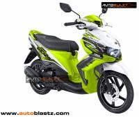 modifikasi yamaha xeon gt125 green lemon autoblastz