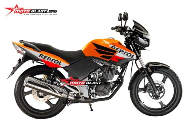 modifikasi honda tiger revo repsol edition