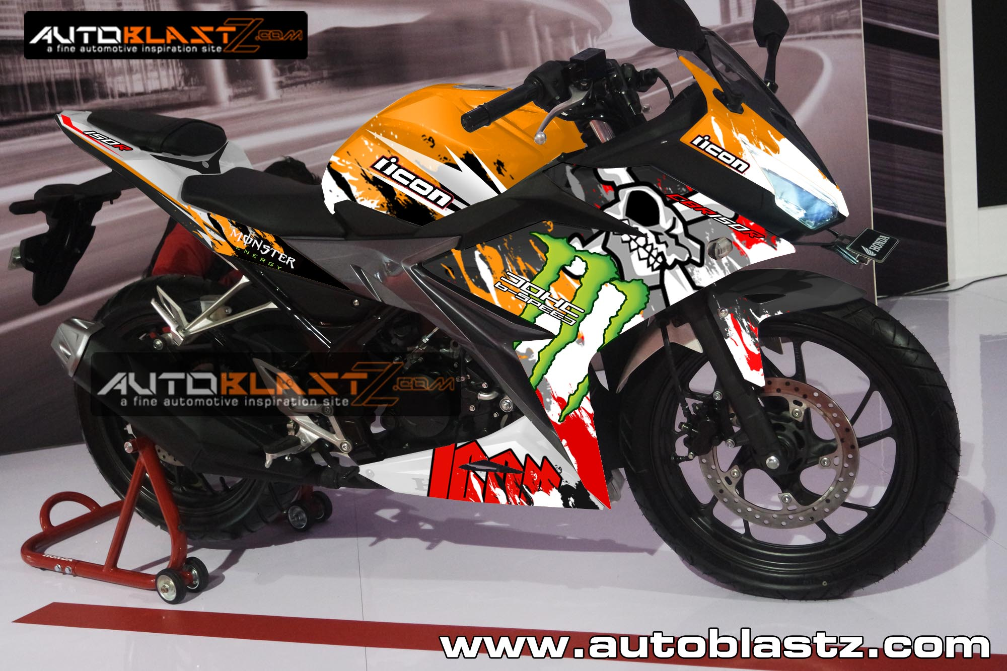 Top modifikasi all new cbr 150 repsol