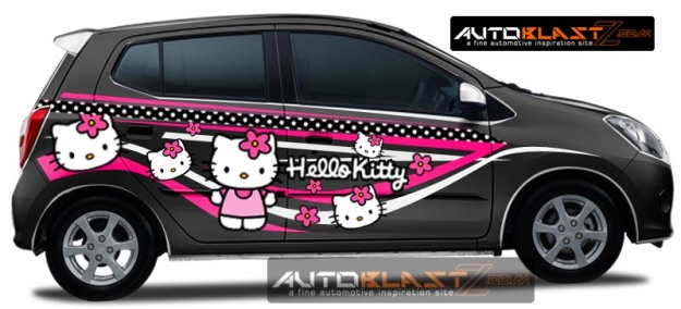 AYLA BLACK HELLO KITTY