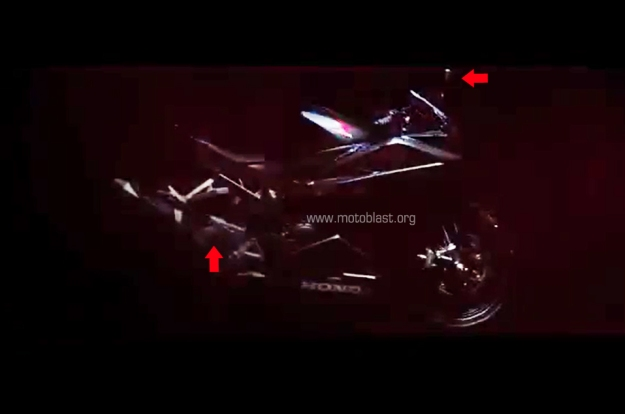 VIDEO TEASER CBR250RR BANANA ARM SPION SEIN